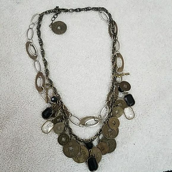 Gold Necklace With Chinese Symbols Poshmark
